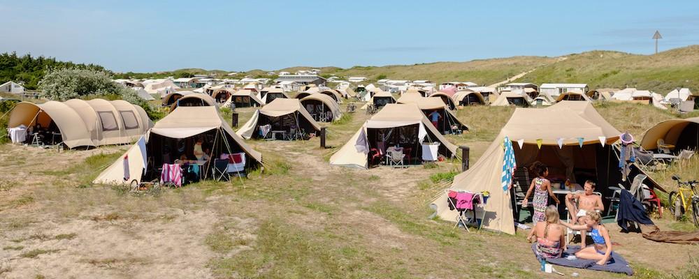 Huurtent op Vlieland | Tent te huur op Stortemelk Vlieland