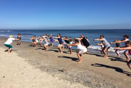 Yoga Aan Zee in Augustus